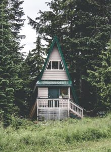 small a-frame home